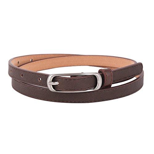 Denim Skinny Belt - 8