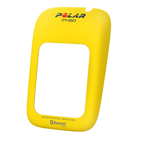 Polar M450 Bike Computer Color Cover, Yellow