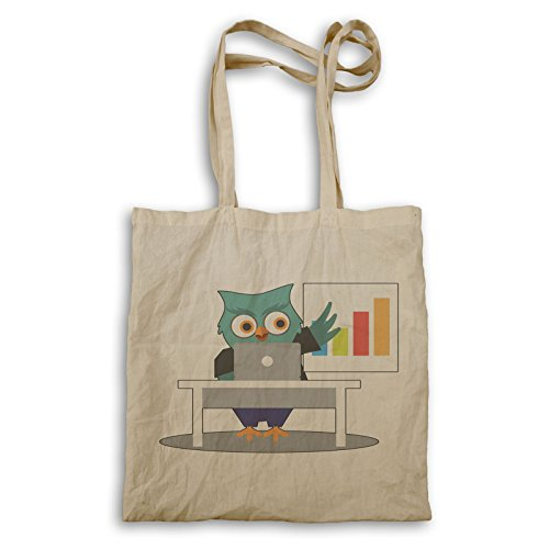 Funny Tote Business Owl Business bag Man Owl o657r 8TIZqv