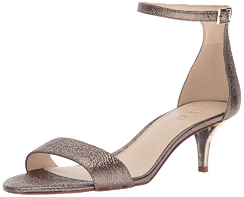 West Women's Sandals Dk Gold Nine Leisa Fashion Mt F6wdPnBqx