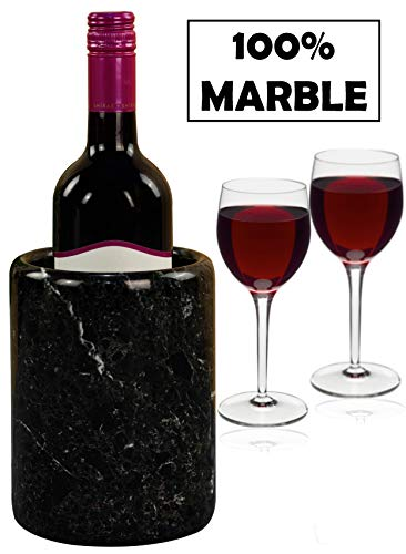 Wine Chiller Tabletop Handmade Marble Wine Chillers - 5x5x6.5 Inch