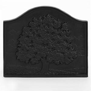 Amazon.com: Fireplace Hearth Cast Iron Fireback - Oak Tree: Home ...