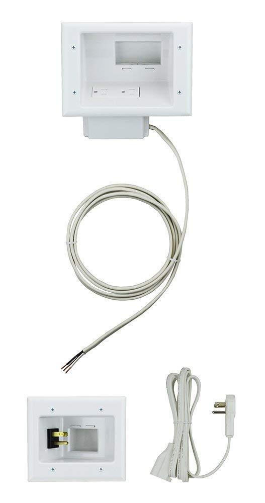 DataComm Electronics 50-6623-WH-KIT Biss, White