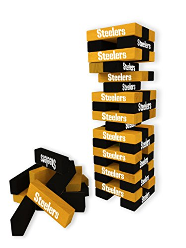 Wild Sports NFL Pittsburgh Steelers Table Top Stackers Game
