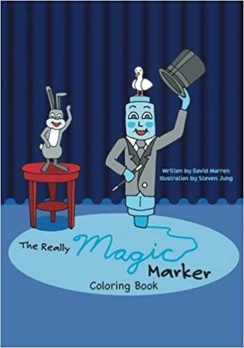 the really magic marker coloring book david warren 9781612966571 amazoncom books - Magic Marker Coloring Book