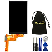 Mencia Cell Phone Parts Screen Glass for HTC One M9 LCD Display Digitizer Assembly Replacement with Free Assembly Tool (NO Touch Digitizer)