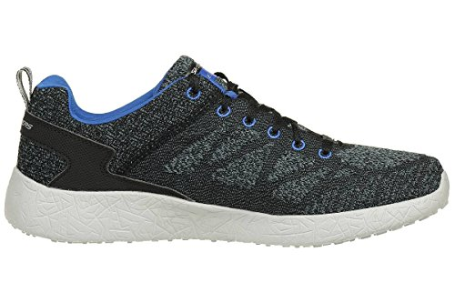 Skechers Burst Athis Skech Mens Fitness Trainers black blue trainers