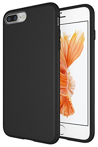 Iphone 7 Plus   8 Plus Case  Diztronic Full Matte Slim Fit Flexible Tpu Case For Apple Iphone 7 Plus   Iphone 8 Plus   Matte Black