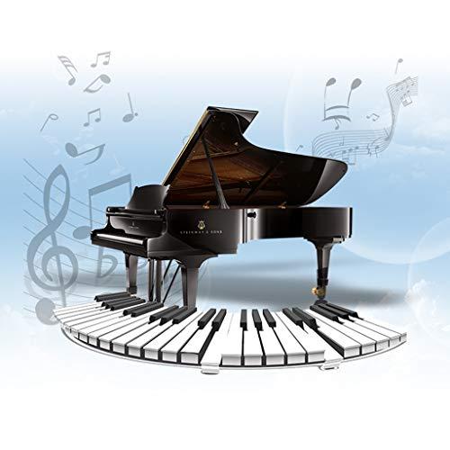 HXGL-Keyboard Children's Keyboard Playmat Piano Play Mat Kids Electronic Music Playmat Colorful Dance Mat-17 Keys (Color : Red) by HXGL-Keyboard (Image #2)