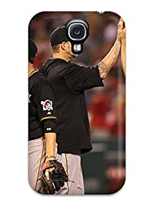 New Style pittsburgh pirates MLB Sports & Colleges best Samsung Galaxy S4 cases 9382598K376859338