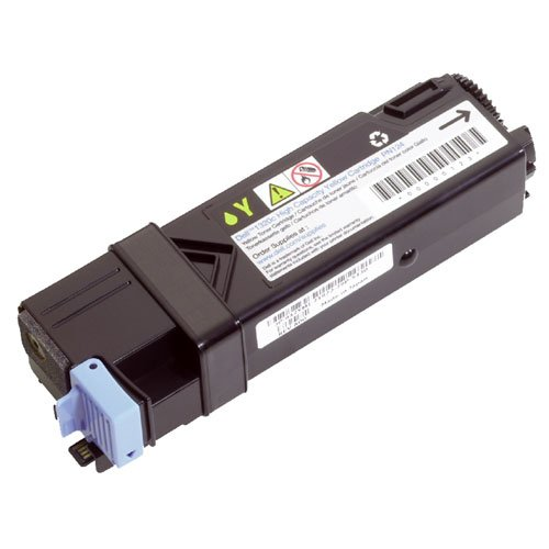 (Dell FM066 Toner Cartridge for 2130cn/2135cn Laser Printers, Yellow)