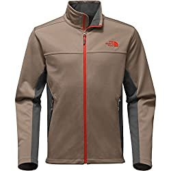 The North Face Men's Apex Canyonwall Jacket - Falcon Brownasphalt Grey - S (Past Season)