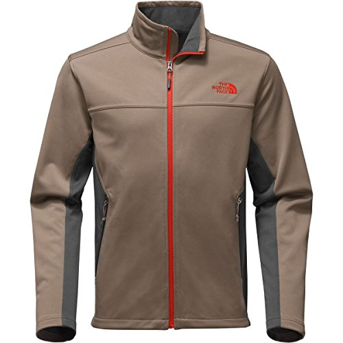North Face Equipment (The North Face Men's Apex Canyonwall Jacket - Falcon Brown/Asphalt Grey - XL (Past Season))