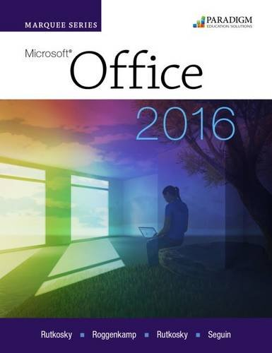 Marquee Series: Microsoft Office 2016: Text PDF