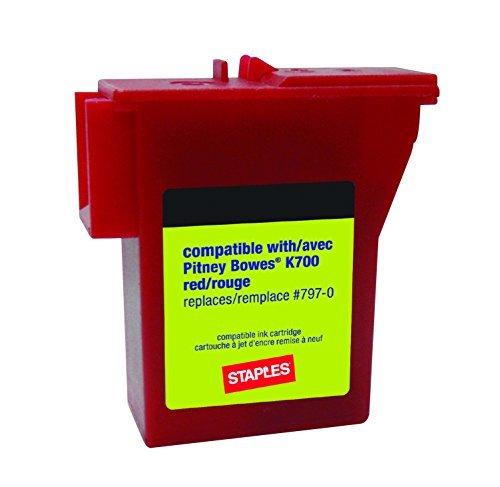 Staples K700 Postage Meter Ink Cartridge for Mailstation Series Meters