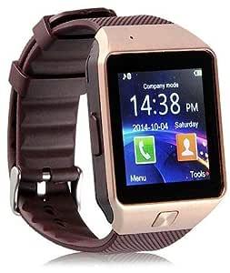 Smart GSM Watch Phone Bluetooth touch screen - Brown
