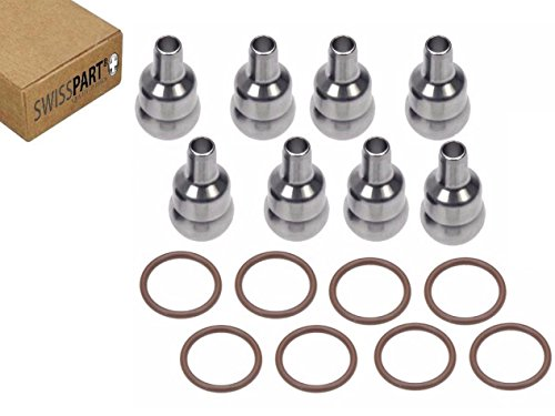 8pc High Pressure Oil Rail Ball Tube Repair Kit For Ford 6.0L Powerstroke 04 -10 - Oil Rail