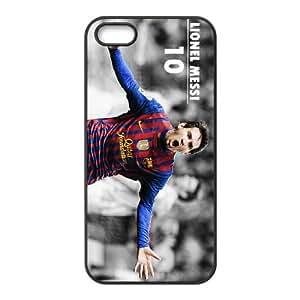 S7H33 Lionel Messi Z9C8SG iPhone funda 5 caja del teléfono celular 5s funda Cubierta Negro AT5SZK5JH