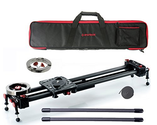 Shark Slider S1 Special Bundle 53 inch w/Auxiliary Weight, Carrying Case, Extension Rods and Extra Belt
