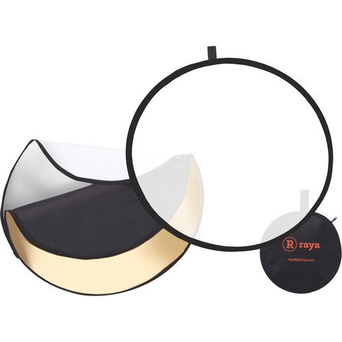 Raya 5-in-1 Collapsible Reflector Disc (42'') by Raya