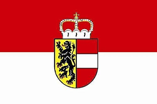 U24 Fahne Flagge Salzburg Stiefelflagge Premiumqualität 120 x 180 cm