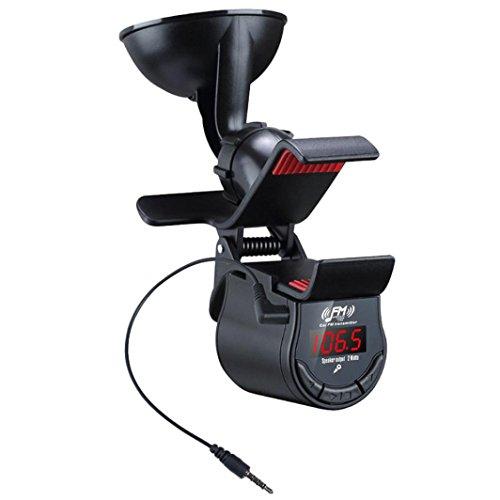 bescita Chargeur Kit voiture Transmetteur FM mains libres voiture lecteur MP3Housse Support