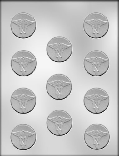 CK Products 1-1/2-Inch Nurse Mint Chocolate Mold