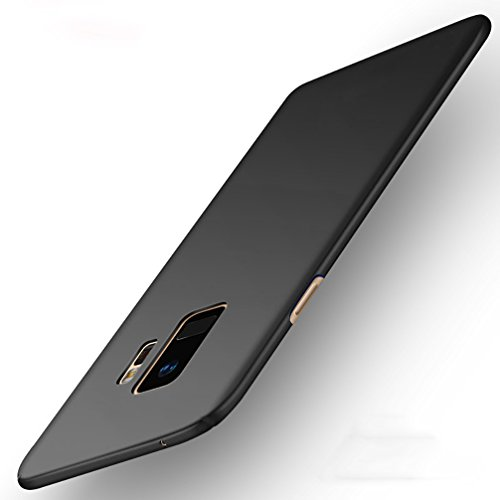 Anyos Galaxy S9 S9Plus Case, Slim Fit Matte Finish Minimalist Cover for Samsung GalaxyS9 S9Plus (Galaxy S9 Plus, Black)