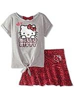 Hello Kitty Little Girls' Skirt Set (Toddler/Kids) - Deep Fuchsia