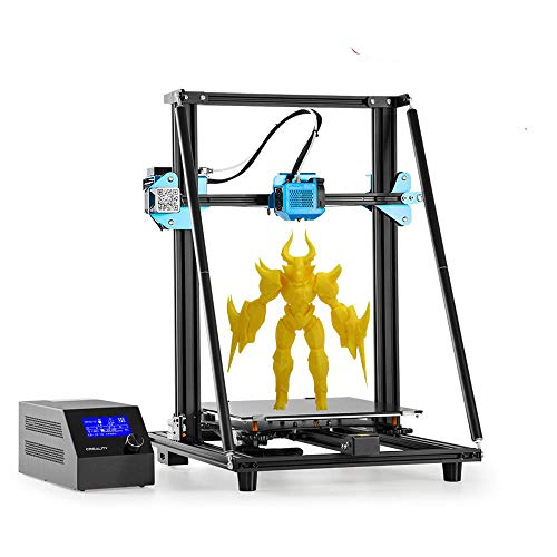 Creality CR-10 V2 DIY 3D Printer with Silent Mainboard Meanwell Power Supply All-Metal Extruder Drive Feed 300x300x400mm…