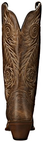 Justin Boots Women's Classic Western Boot Narrow Square Toe,Tan Damiana,8 B US by Justin Boots (Image #2)
