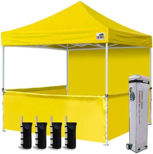 Eurmax 10 x10 Ez Pop-up Booth Canopy Tent Commercial Instant Canopie