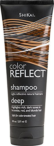 Shikai - Color Reflect Daily Moisture Shampoo, All Shades of Brown Hair Take on a Deeper Glow, Adds Weightless Body & Shine, Helps Protect & Extend Color Treated Hair (Unscented, 8 (Care Moisture Light Shampoo)
