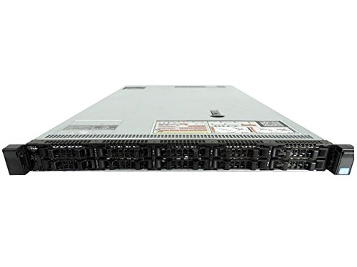 Dell PowerEdge R620 10 Bay 1U Server, 2X Intel Xeon E5-2620 2.0GHz 6 Core, 48GB DDR3, H710p RAID, 2X 10GbE + 2X 1GbE, 4X 500GB 7.2K SAS 2.5 Drives, 2X 750W PSUs, no Rails (Certified Refurbished)
