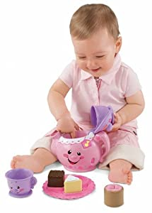Fisher-Price Laugh & Learn Say Please Tea Set from Laugh & Learn
