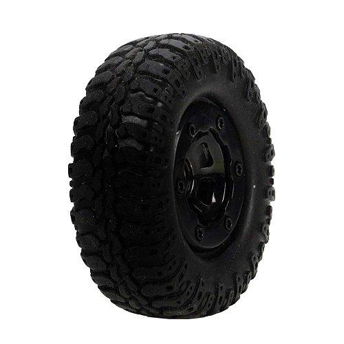 Losi Scale AT Tire & Wheel, Mounted (4) :Mc4x4 LOSB1578