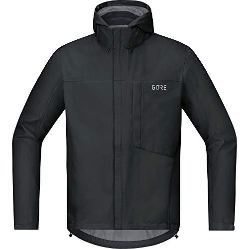 (Gore Men's C3 Gtx Paclite Hooded Jacket,  black,  XL)