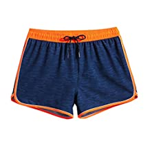 ME-JUCA Mens Swim Trunks With Pocket High Printed Board Shorts L