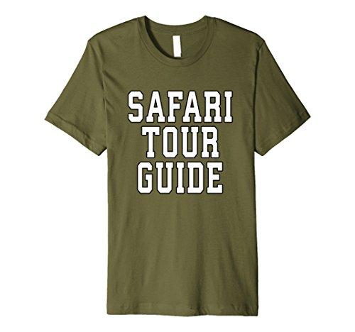 Mens Safari Tour Guide Halloween Premium TShirt 2XL (Male Tour Guide Costume)
