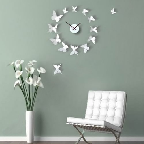 Amazoncom Pcs D Butterfly Wall Stickers Decor Art Decorations - Butterfly wall decals 3d