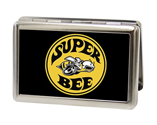 Dodge Automotive - Super Bee Logo - Metal Multi-Use Wallet Business Card Holder