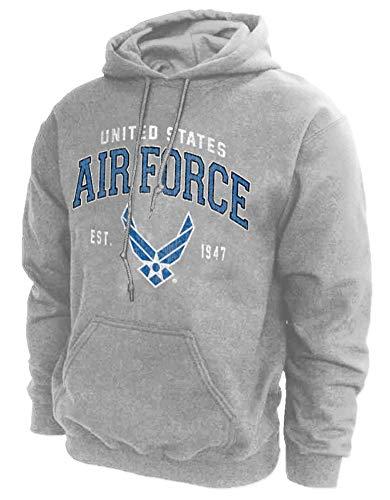 U.S. Air Force Hoodie Sweatshirt Vintage Logo - Medium