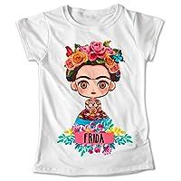 Blusa Frida Kahlo Mexico Colores Playera Estampado #320