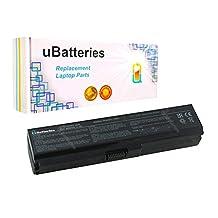 UBatteries Laptop Battery Toshiba Satellite C600 C600D C605 C630 C640 C640D C645 C645D C650 C650D C655 C655D C660 C670 C675 C675D L630 L635 L640 L640D L645 L645D L650 L655 L670 L675 - 8800mAh, 12 Cell