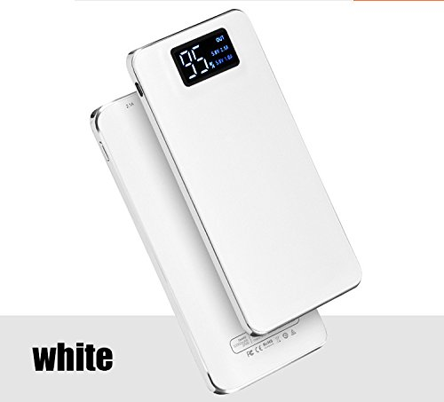 Power Bank 20000mAh External Battery Quick Charge Dual USB LCD Powerbank Portable Mobile Phone Charger