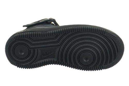 save off caa18 a94b0 NIKE Air Force 1 Mid (PS) Preschool Kids  Shoes Black