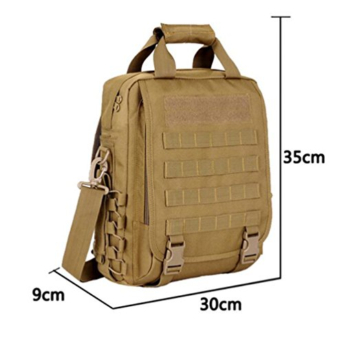 WanYang Acampada Camping Senderismo Deport Nylón Impermeable Mochila Militar Camping Supervivencia Color Impermeable Camuflaje B