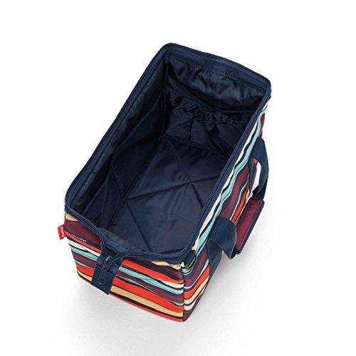 Multicolore S dimensions noir Gestreift tailles et et 0593 Sac Reisenthel usages au L voyage sport couleur CB Noir M tous Mehrfarbig de choix de q1TgFpzT