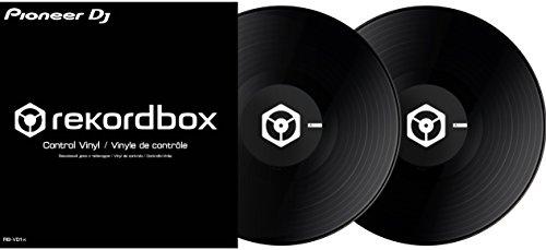 [해외] Pioneer DJ 파이오니아 / Control vinyl 블랙 REKORDBOX DVS전용