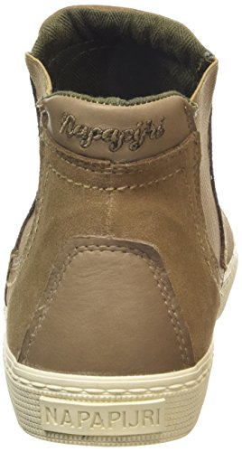 Napapijri Ellen, Baskets Hautes Femmes Beige - Beige (cardamom brown N42)